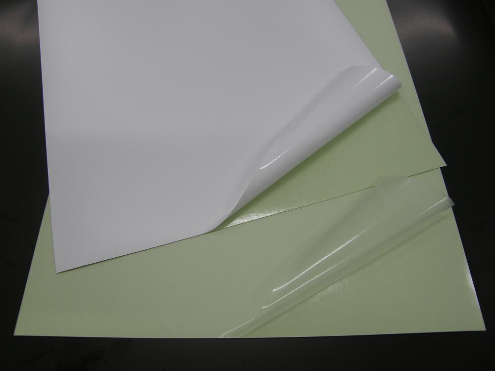 「耐候ポリオレフィン粘着シート」抜群の耐候性を有する非塩ビ素材ラベル
