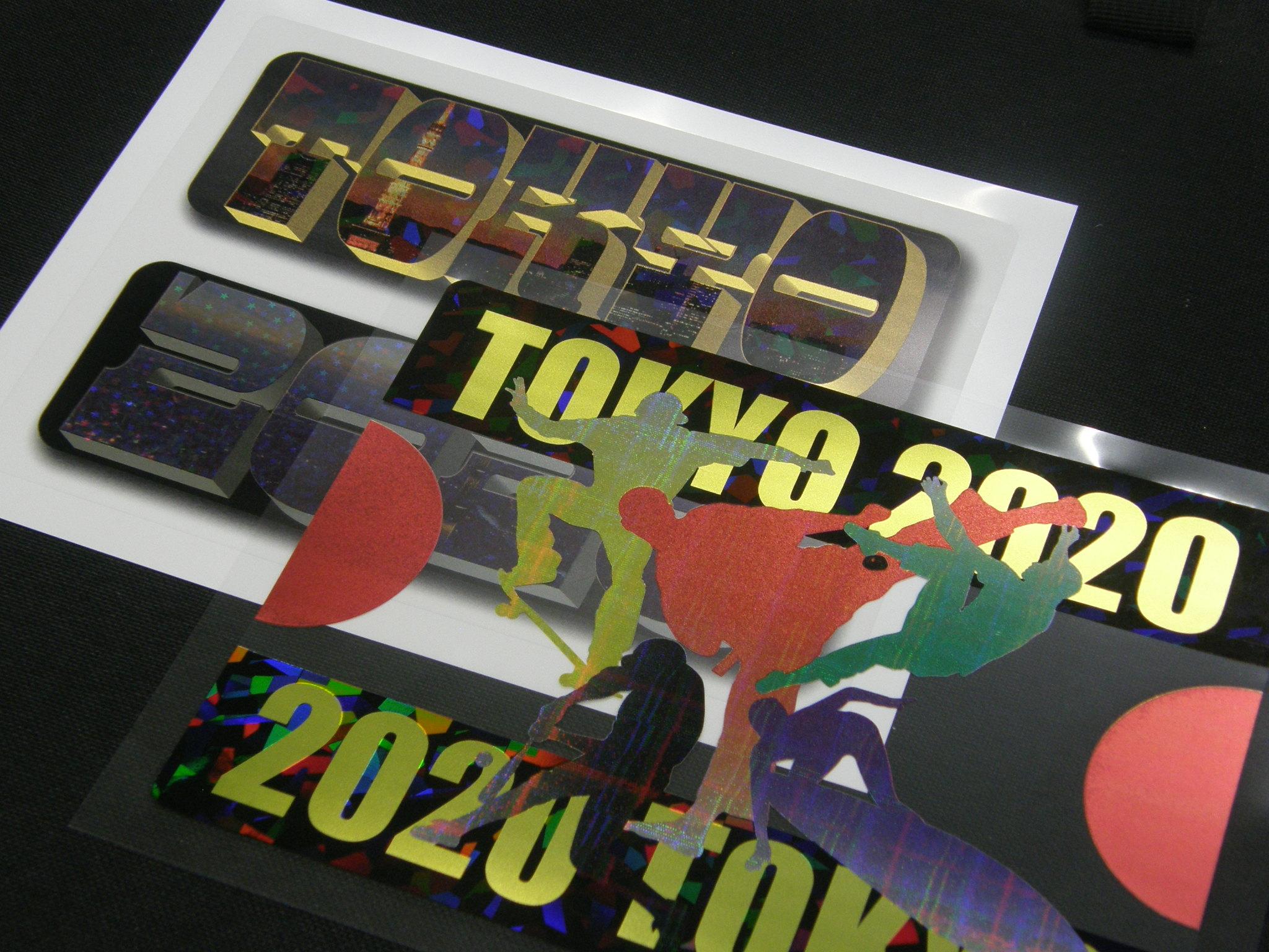 「ハイパータック」印刷用高透明PET粘着シート、SurePressの印刷も可能