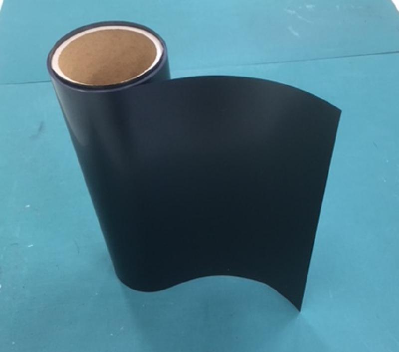 「HR-BPI」極薄で高耐熱性の特殊黒色ポリイミド粘着テープ(シリコーン系粘着)