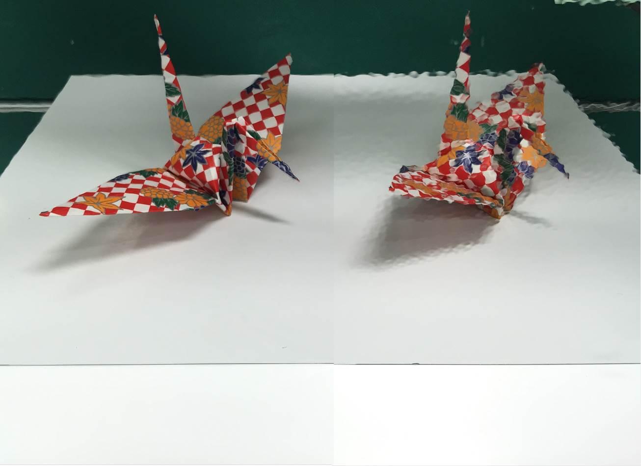 「銀50-PMX2」表面の鏡面性を比較